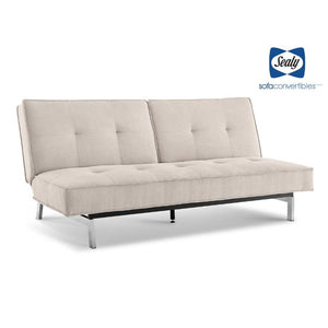Anson Splitback Convertible in Sand by Sealy - Futons 4 Less