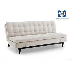 Montreal Sofa Convertible in Tan by Sealy - Futons 4 Less