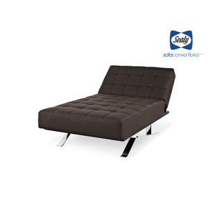 Carmen Chaise Convertible in Slate by Sealy