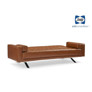5th Avenue Sofa Convertible in Camel by Sealy