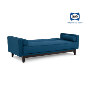 Emily Sofa Convertible in Blue by Sealy