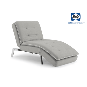 Harriet Chaise Convertible in Slate by Sealy