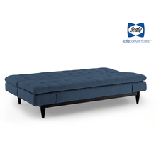 Montreal Sofa Convertible in Ocean by Sealy