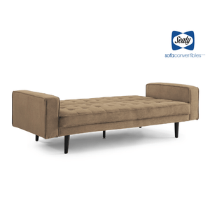 Tilbury Sofa Convertible in Sand by Sealy