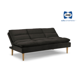 Monterey Heavenly Chestnut Splitback Sofa Convertible - Futons 4 Less
