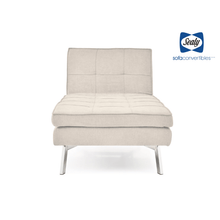 Jackson Chaise Convertible in Sand by Sealy