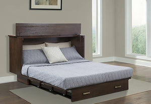 Traditional Murphy Cabinet Bed Pekoe - Futons 4 Less