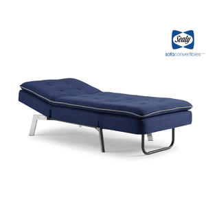 Harriet Chaise Convertible in Blue by Sealy