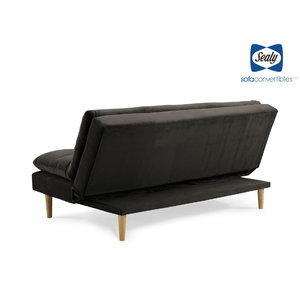 Monterey Sofa Convertible in Granite by Sealy
