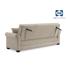 St. Anne Sofa Convertible with Storage in Sand by Sealy