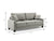 Barletta Full Dropback Sofabed in Ella mineral by Sealy Sofa Convertibles