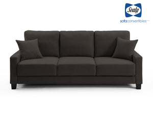 Barletta Full Dropback Sofabed in Cozy Granite by Sealy Sofa Convertibles