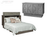 Arason Creden-ZzZ Brussels Charcoal Queen Murphy Cabinet Bed In A Box