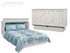 Arason Creden-ZzZ Brussels White Queen Murphy Cabinet Bed In A Box
