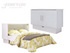 Arason Creden-ZzZ Madrid White Full Murphy Cabinet Bed In A Box