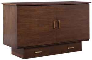 Arason Creden-ZzZ Pekoe Traditional Queen Murphy Cabinet Bed In A Box