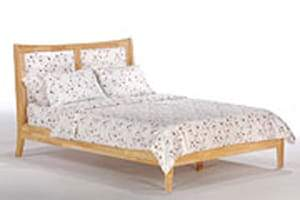 K Series Chameleon Natural Platform Bed - Futons 4 Less