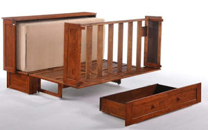 Clover Queen Murphy Cabinet Bed Cherry