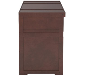 Night & Day Cube Dark Chocolate Queen Murphy Cabinet Bed In A Box