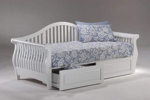 Nightfall Daybed White - Futons 4 Less