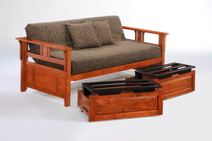 Teddy R Daybed Cherry - Futons 4 Less