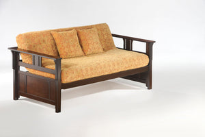 Teddy R Daybed Chocolate - Futons 4 Less