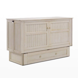 Daisy Queen Murphy Cabinet Bed Buttercream - Futons 4 Less