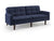 Kennedy Square Arm Convertible Sofa (Cosmic Navy) by Sealy Sofa Convertibles