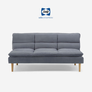 Maryland Sofa Convertible (Heavenly Dark Sky Blue) by Sealy Sofa Convertibles