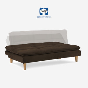 Maryland Sofa Convertible (Heavenly Chestnut) by Sealy Sofa Convertibles