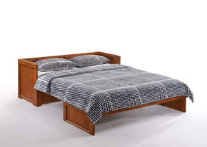Cube Queen Murphy Cabinet Bed Cherry - Futons 4 Less
