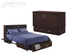 Night & Day Sagebrush Dark Chocolate Queen Murphy Cabinet Bed In A Box