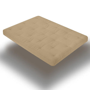 Serta Sycamore 8 Inch Futon Mattress with Finger Foam Core - Futons 4 Less