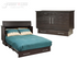 Arason Creden-ZzZ Traditional Coffee/Espresso Queen Murphy Cabinet Bed In A Box