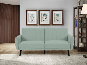 Vento Sofa Convertible (Cosmic Teal) by Sealy Sofa Convertibles