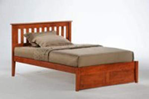 K Series Rosemary Cherry Platform Bed - Futons 4 Less
