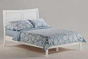 P Series Saffron White Platform Bed - Futons 4 Less