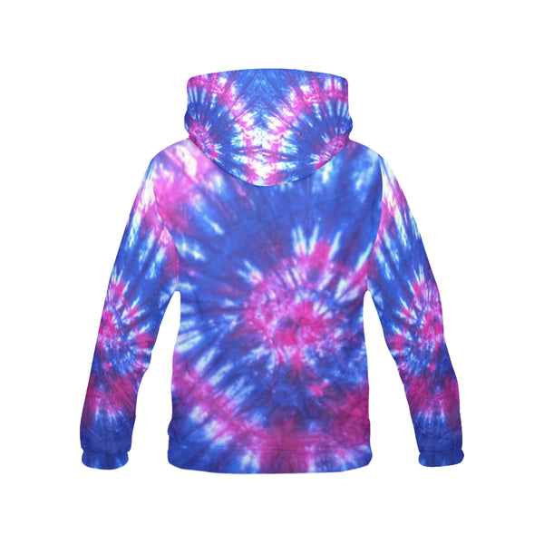 Women's Tie Dye Hoodie for Women (USA Size) (Model H13) - kdb solution