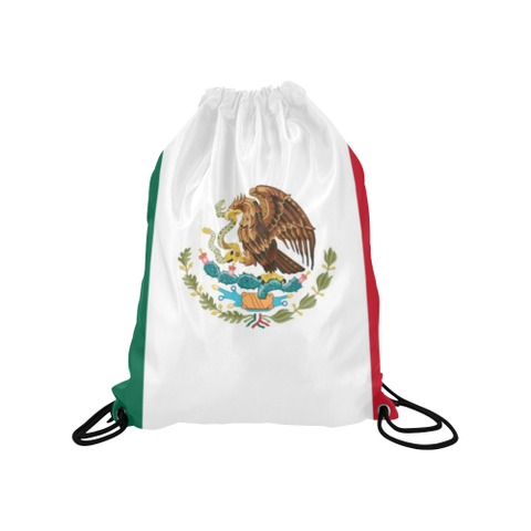 "Mexico Medium Drawstring Bag Model 1604 (Twin Sides) 13.8""(W) * 18.1""(H)"