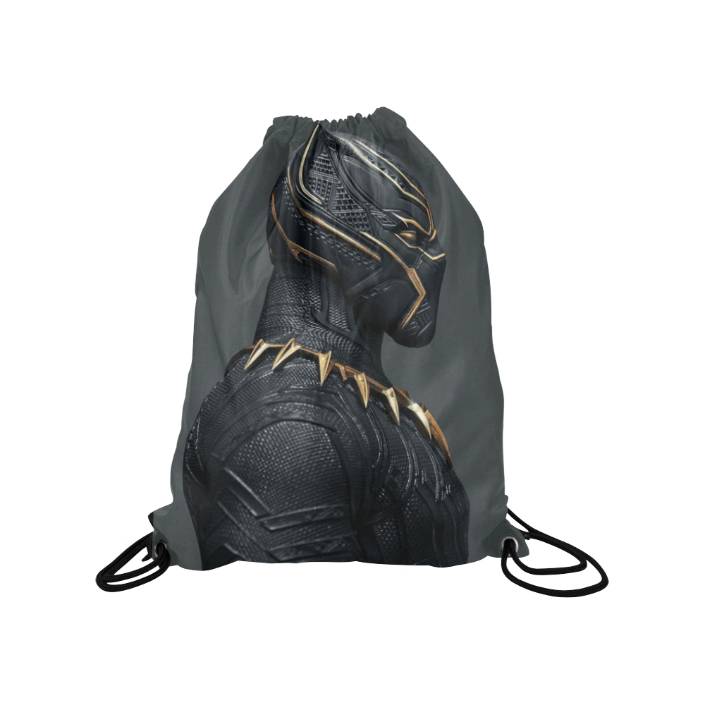 Medium Drawstring Backpacks Black