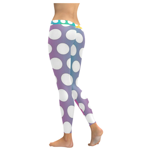Polka Sots Low Rise Leggings (Invisible Stitch) (Model L05) - kdb solution