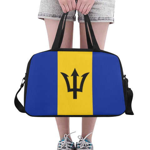 Barbados Flag 1 Fitness/Overnight bag (Model 1671) - kdb solution