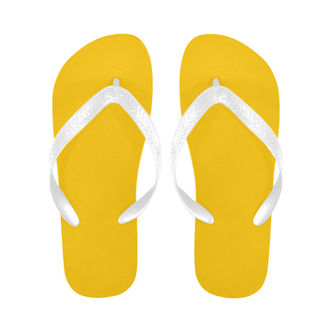 Yellow Flip Flops for Men/Women (Model 040) - kdb solution