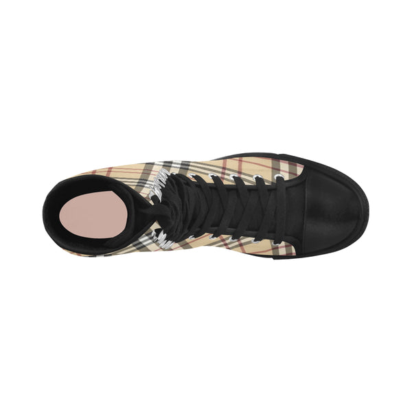 Burberry Pattern Canvas Long Boots For Women Model 7013H - kdb solution