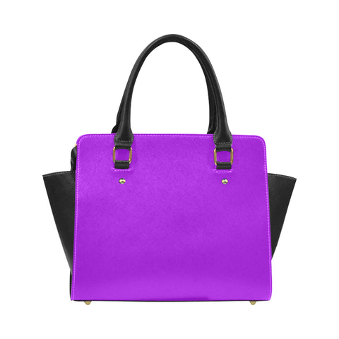 Purple Classic Shoulder Handbag (Model 1653) - kdb solution