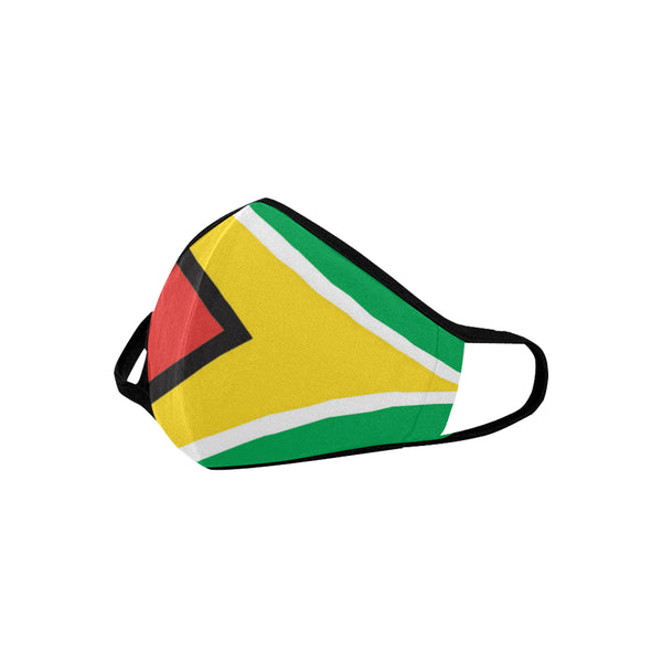 Guyana flag Mouth Mask - kdb solution