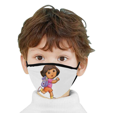 Dora the exploer Mouth Mask - kdb solution