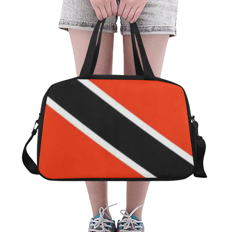 Trinidad flag Fitness/Overnight bag (Model 1671)
