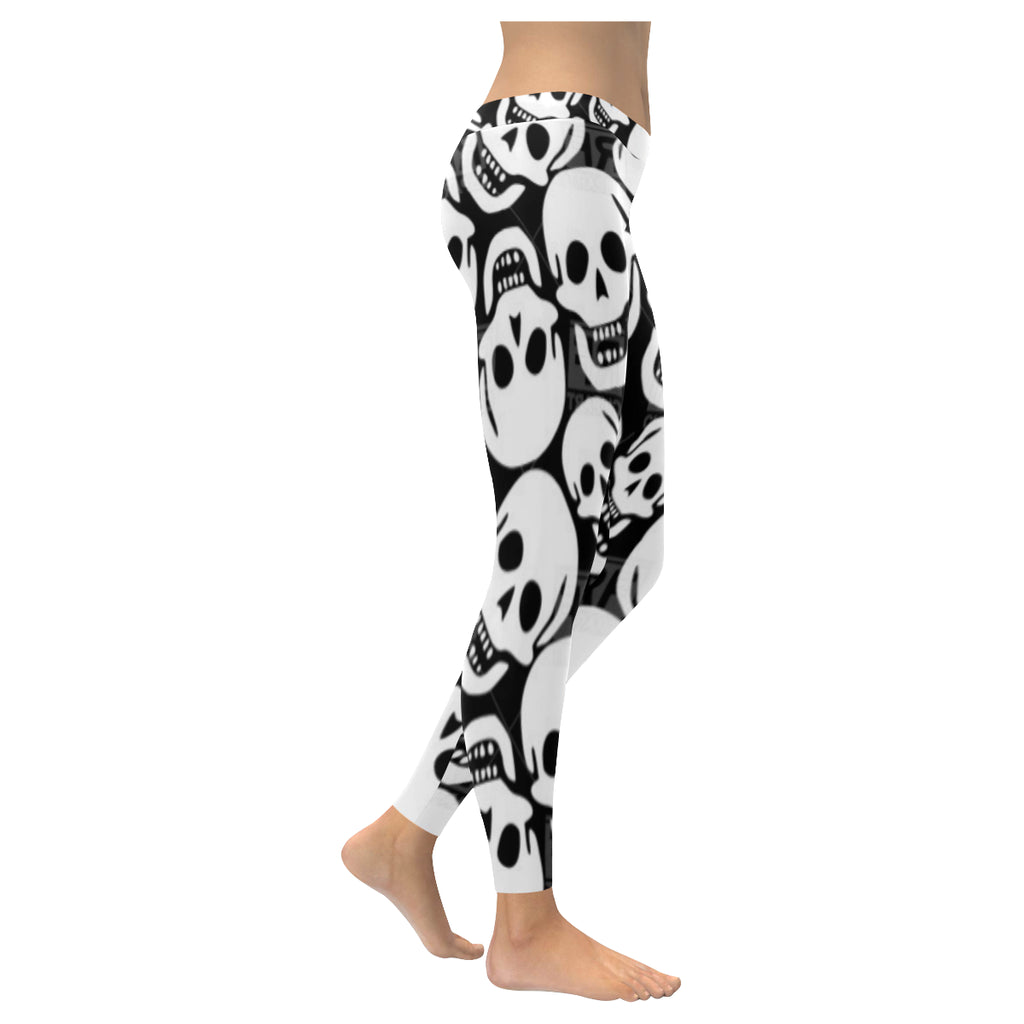 Skull Low Rise Leggings XXS-XXXXXL