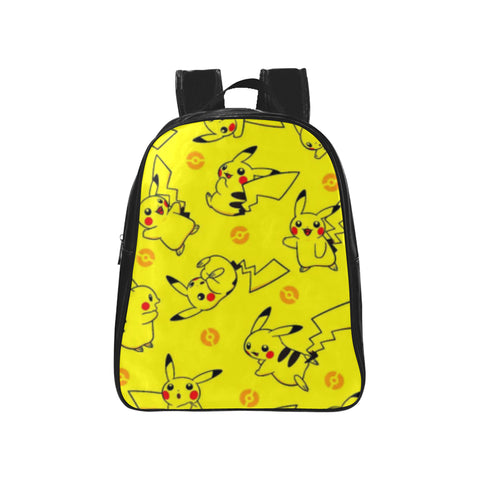 Pokemon 1 School Backpack (Model 1601)(Medium)